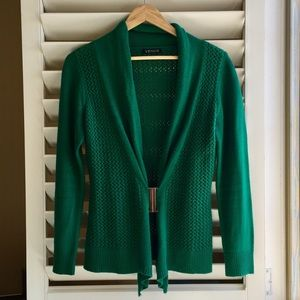 VENUS emerald green cardigan